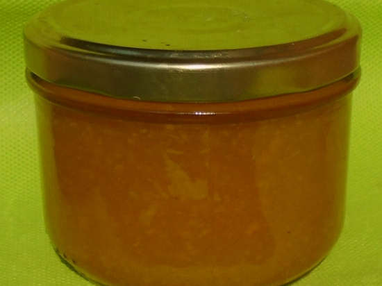 Confiture Courgette/Ananas/Gingembre 300g