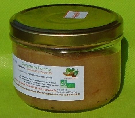 Compote Pomme 180g