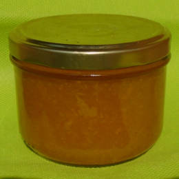 Confiture Courgette/Ananas/Gingembre 230g